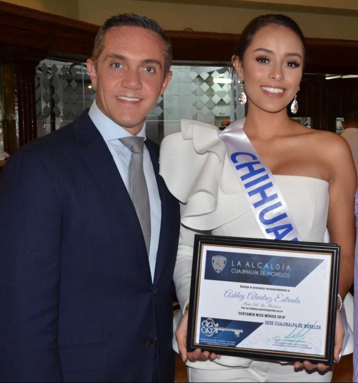 Mediante comunicado, Adríán Rubalcava lamenta la manera discriminatoria con la que se trató a los vecinos de Cuajimalpa en el certamen Miss México