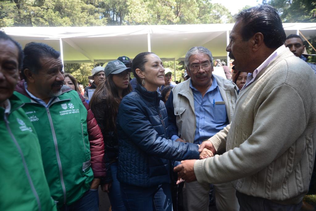 Gobierno de la Ciudad ha entregado 152 mdp del programa Altépetl para el suelo de conservación