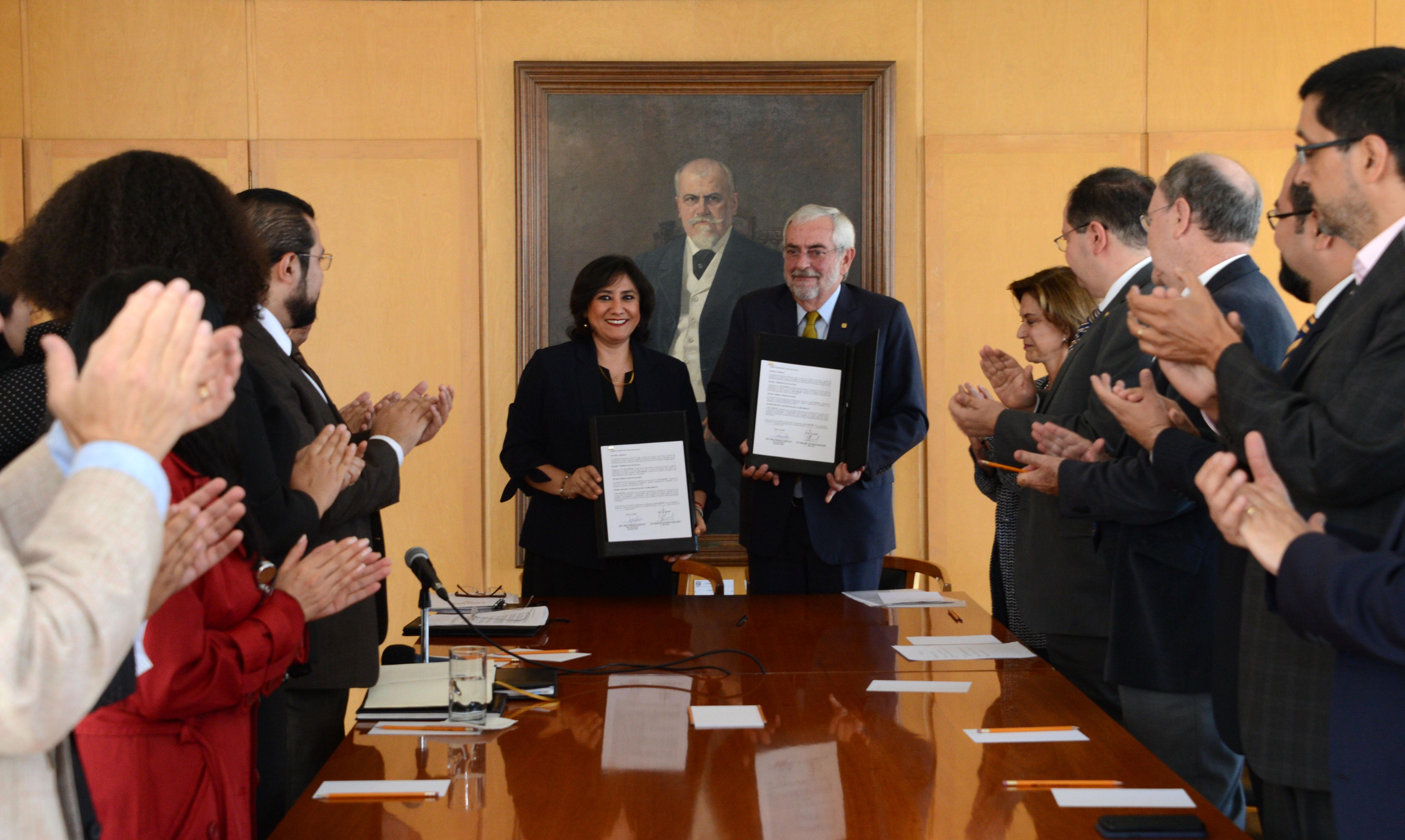 UNAM y Secretaría de la Función Pública Firman Convenio para Combatir la Corrupción