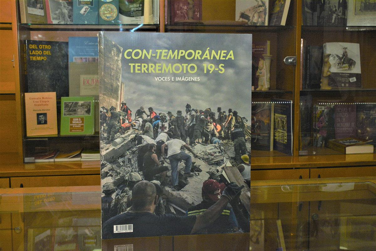 Vivencias sobre los sismos son reunidos en libro publicado por el INAH