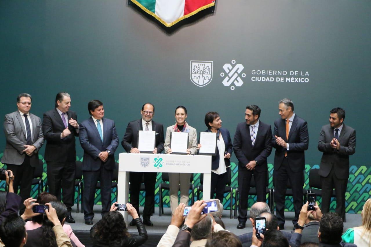 Firman convenio Gobierno CDMX y ECOCE para duplicar el reciclaje de residuos sólidos urbanos