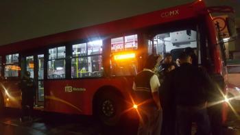 Detiene SSC a Conductor de Metrobús que arrolló a una Mujer