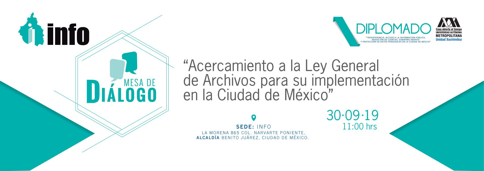 Acercamiento a la Ley General de Archivos para su implementación en la CDMX