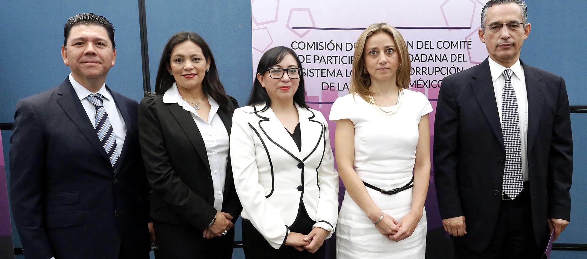 Rinden Protesta las y los Integrantes del Comité de Participación Ciudadana del Sistema Anticorrupción de la CDMX