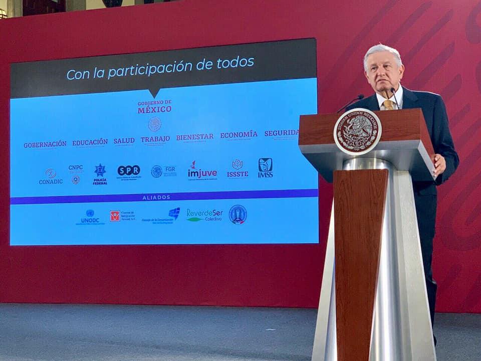 Gobierno de México continúa trabajando en Estrategia Nacional para la Prevención de las Adicciones