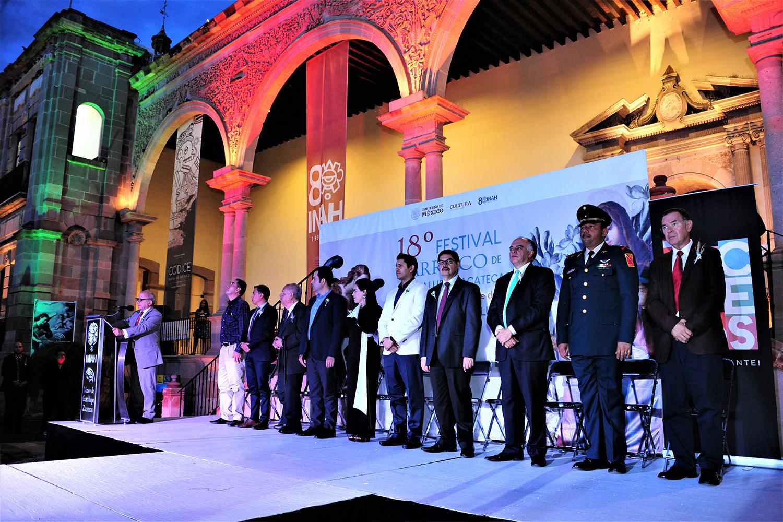 Las Morismas en honor a san Juan Bautista abren 18 edición del Festival Barroco de Guadalupe en Zacatecas