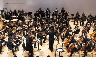 Orquesta Escuela Carlos Chávez presentará propuesta de banda sonora para la cinta ¡Qué viva México!
