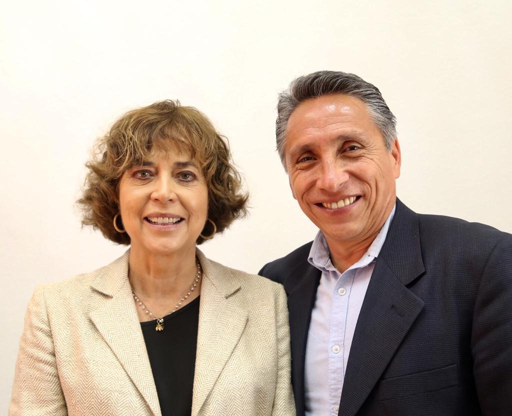 El alcalde Manuel Negrete Arias sostuvo una reunión de trabajo con la secretaria de Educación de la CDMX Rosaura Ruiz Gutiérrez