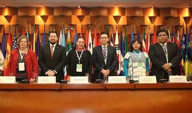 María Luisa Albores González llama a sus homólogos de América Latina y el Caribe a construir alianzas para el Bienestar