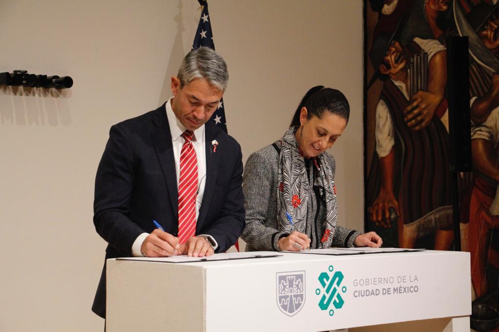 Firman CDMX y San Antonio convenio para fortalecer amistad y políticas públicas