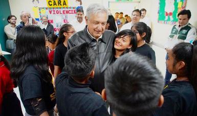 En San Quintín, presidente López Obrador cumple 77 visitas por hospitales rurales del país