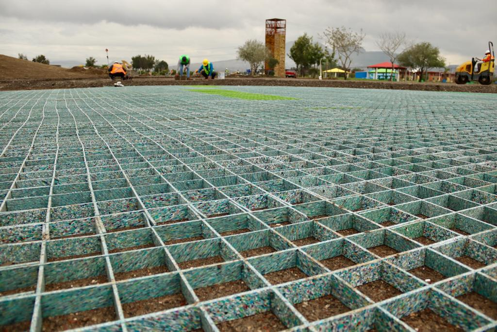 Avanza rehabilitación del Parque Cuitláhuac; alcanza 21% a dos meses de haber iniciado trabajos