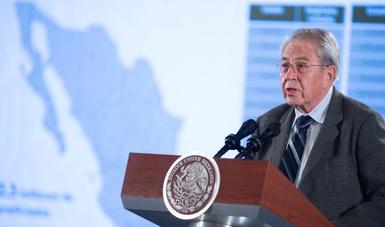 295. En Palacio Nacional, el secretario Alcocer presenta Plan Nacional de Salud e Instituto de Salud para el Bienestar (Insabi)