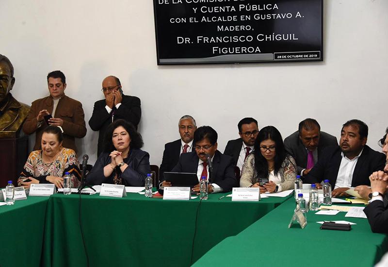 El alcalde en GAM informa de los proyectos a desarrollar en el 2020, y explica el manejo de las economías en este ejercicio fiscal