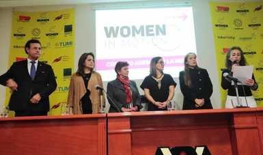 Participa Sedatu en lanzamiento de la red Woman In Motion México