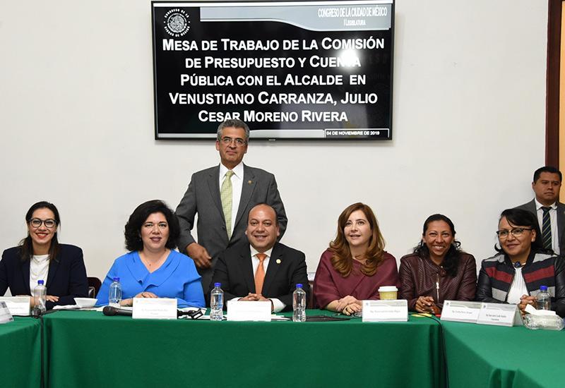 Alcalde en Venustiano Carranza solicita 2 mil 834 millones de pesos como presupuesto para el ejercicio fiscal 2020