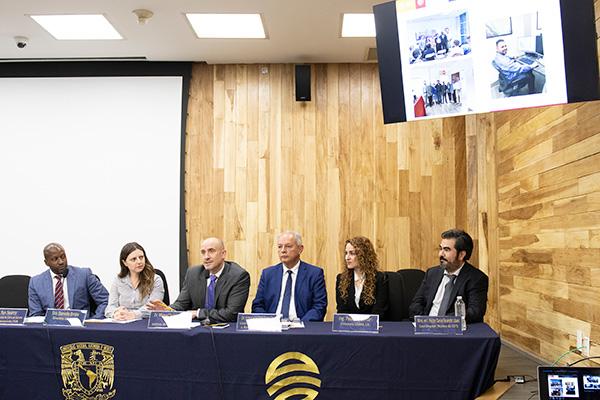 Inauguran en la UNAM sede del Laboratorio Internacional de Tecnología e Investigación Espacial