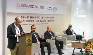 """""""Verificación inteligente"""" mejorará la seguridad en la operación ferroviaria: Alejandro Álvarez"""