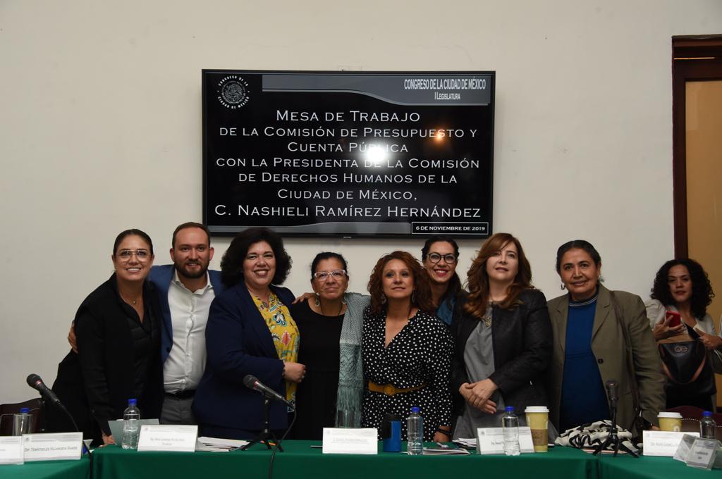 Destacan legisladores la necesidad de dotar de mayores recursos a la Comisión de Derechos Humanos de la Ciudad de México