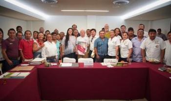 Se reunió SEMARNAT con empresas dedicadas al turismo comunitario en la Península de Yucatán