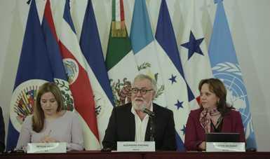 Celebran II Reunión Anual del Marco Integral Regional para la Protección y Soluciones (MIRPS), con México como presidente pro-tempore