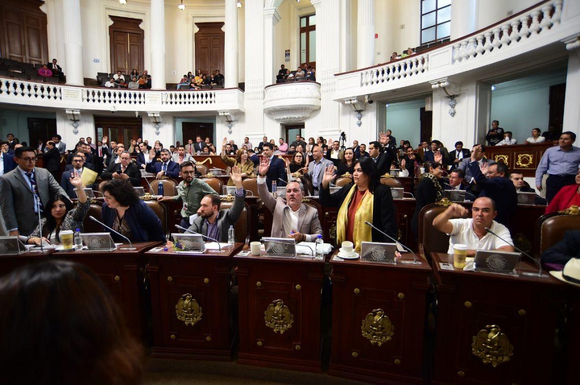 MORENA realiza exhortos al Senado de la República y al alcalde de Coyoacán