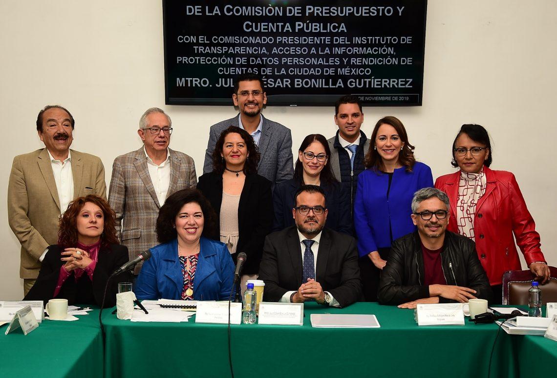 Solicita el INFO 300 mdp al Congreso de la Ciudad de México, para el ejercicio 2020