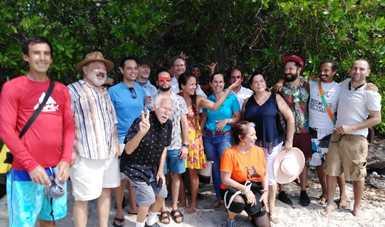Playa La Lancha, en Punta Mita, Nayarit, abierta al público