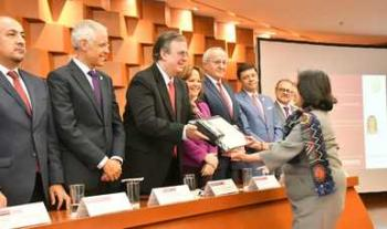 La SRE celebra y reconoce al Servicio Exterior Mexicano en el Día del Diplomático