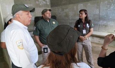 Comisionado del INM recorre y supervisa instalaciones de migración en Tapachula, Chiapas