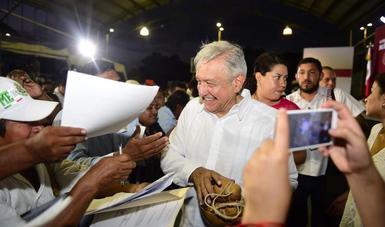 Serán los pueblos quienes decidan sobre Tren Maya, afirma presidente López Obrador en Quintana Roo