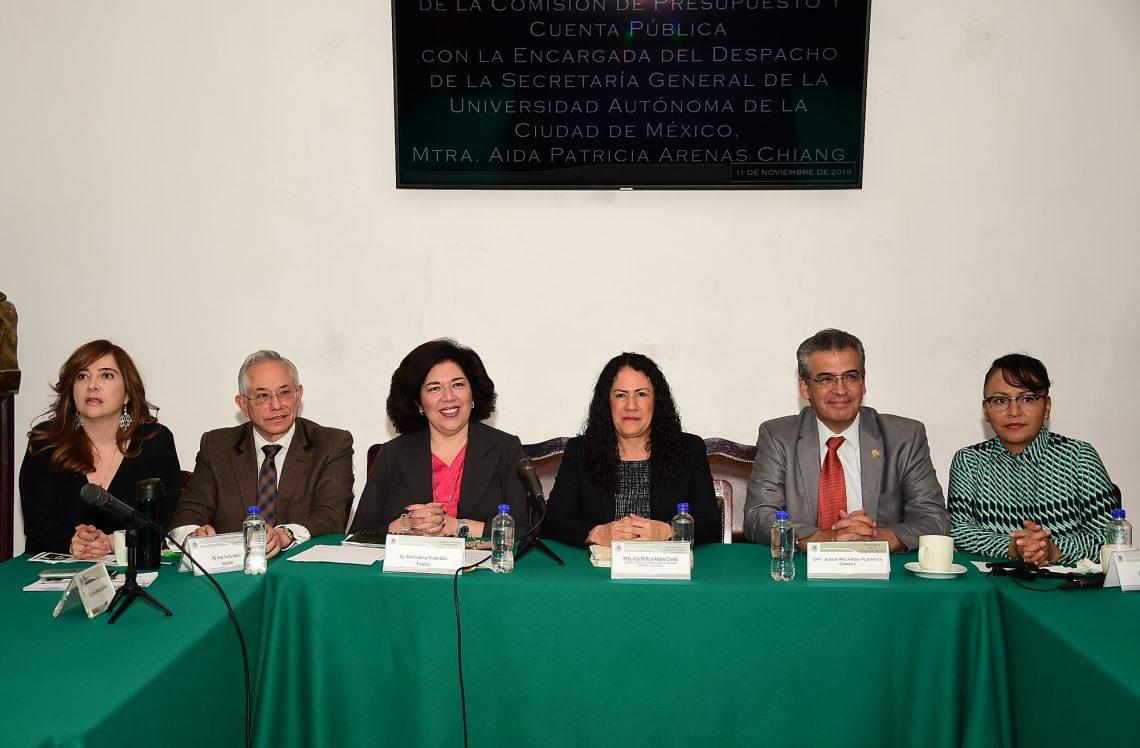 Se recibió a la Universidad Autónoma de la Ciudad de México en un estado administrativo opaco y desordenado: Patricia Arenas