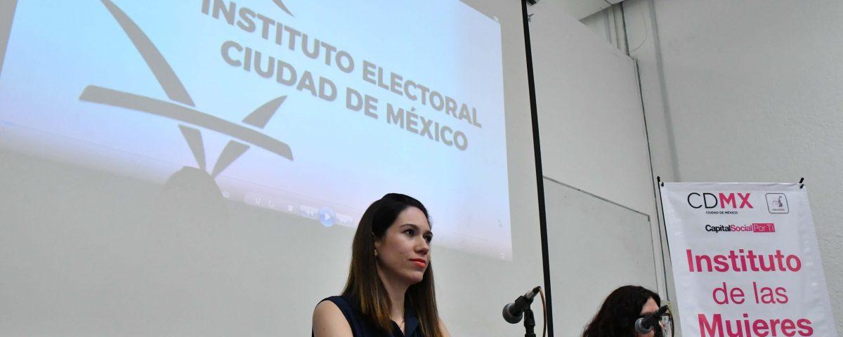 Destaca consejera Gabriela Williams logros y retos del IECM en procesos electorales y de participación ciudadana