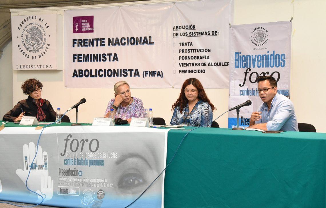 Legisladores de MORENA reciben iniciativa que brinda salidas dignas en casos de explotación sexual
