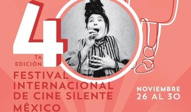 Llega la cuarta edición del Festival Internacional de Cine Silente México