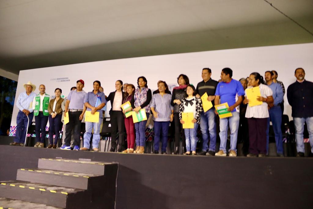 Entrega gobierno capitalino 219 mdp a zona rural de Xochimilco