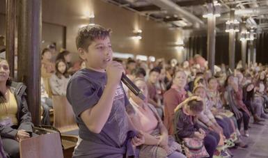 Niños y adolescentes comparten conocimientos y sabidurías en el primer Encuentro Nacional de Saberes Locales