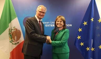 Encabeza subsecretaria Delgado la Primera Reunión de Alto Nivel sobre Asuntos Multilaterales México – Unión Europea