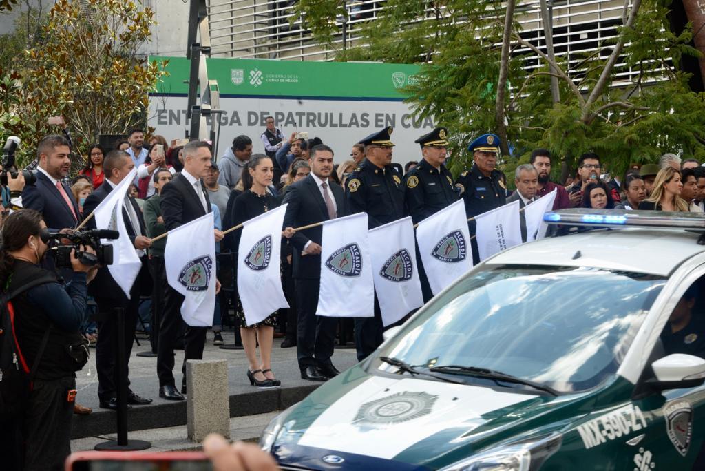 Refuerzan gobierno capitalino y alcaldía Cuajimalpa Seguridad en la demarcación con 144 nuevas patrullas