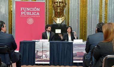 Anuncia la secretaria Irma Eréndira Sandoval acciones de acompañamiento de la Función Pública al Programa Paisano