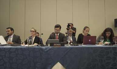 México participa en el 174° Periodo Ordinario de Sesiones de la Comisión Interamericana de Derechos Humanos
