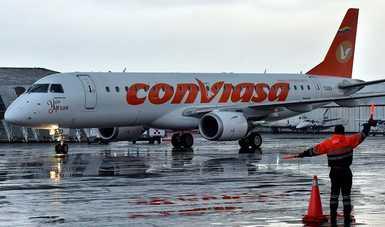 Arriba al Aeropuerto Internacional de Toluca primer vuelo procedente de Venezuela