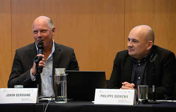 Expertos de Bélgica comparten en la UNAM sus experiencias sobre el buen manejo del agua