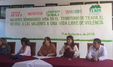 Bienestar e Inmujeres suman esfuerzos contra la violencia de género