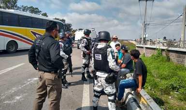 """El Instituto Nacional de Migración informa del rescate de 387 personas migrantes en México, derivado de la """"Operación Turquesa"""""""