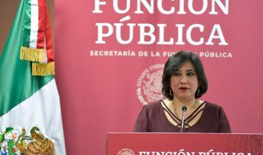 Se han eliminado 655 plazas de Dirección General Adjunta y se camina a la erradicación de esta figura: Secretaria Sandoval Ballesteros