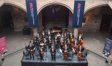 Con gran éxito, estrenan la orquesta de cámara Sinfonieta FMM en el Festival de Música de Morelia