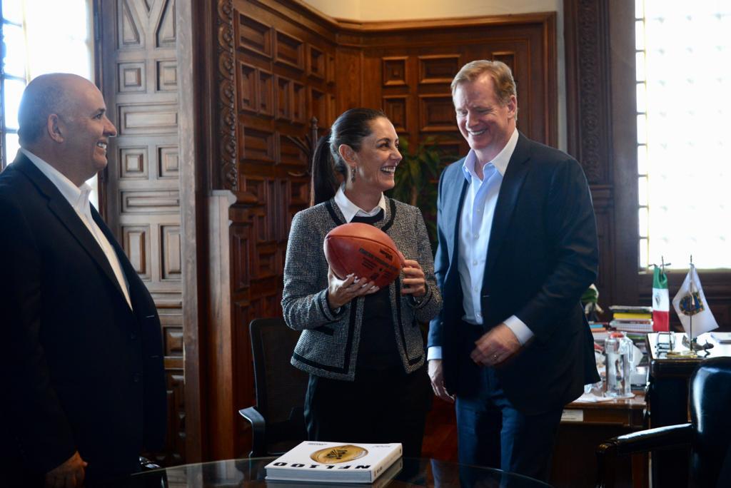Reunión con el comisionado de la NFL