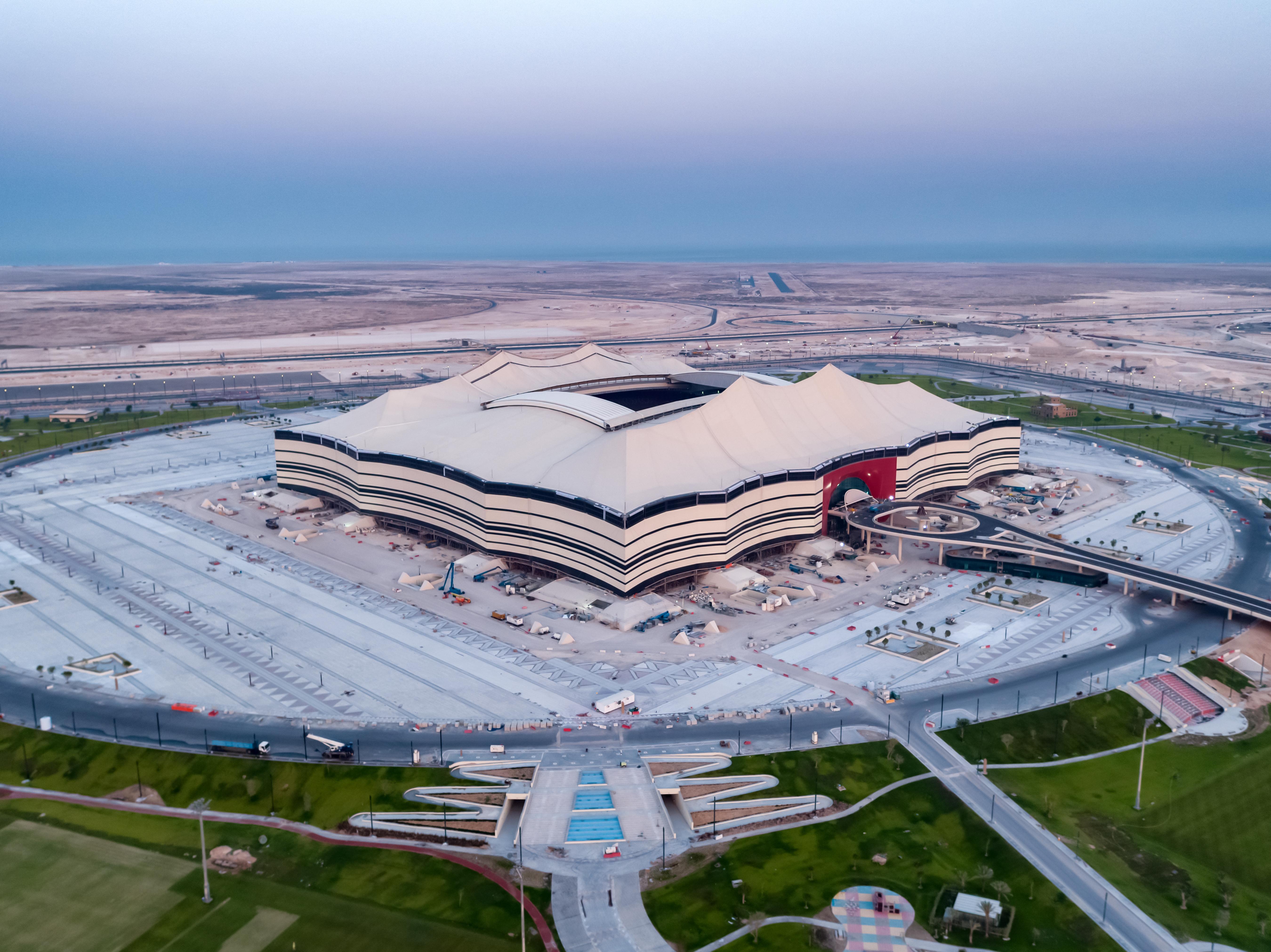 Experiencia de lujo en Estadio Al Bayt, para el Mundial de Qatar 2022