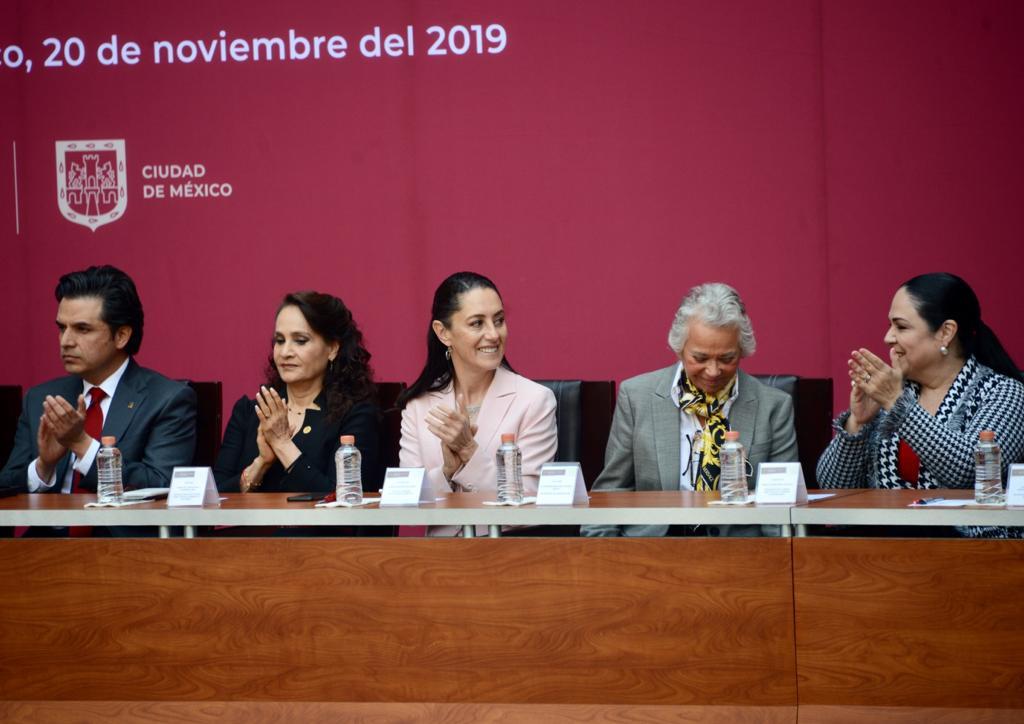 Asistencia de la Jefa de Gobierno a la Conmemoración del CIX Aniversario de la Revolución Mexicana